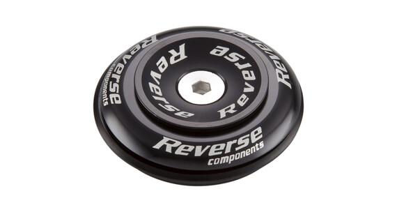 "Reverse Twister Top Cap 1 1/8"" Semi black"
